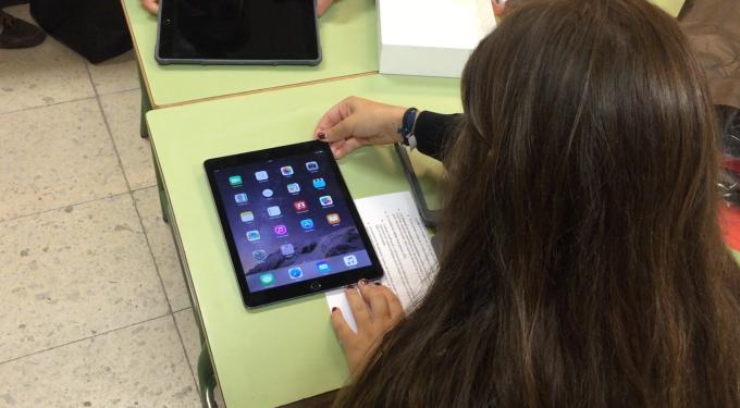 iPad en Nuestra Señora delRecuerdo
